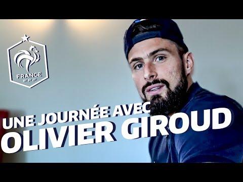 Une journée avec Olivier Giroud à Clairefontaine