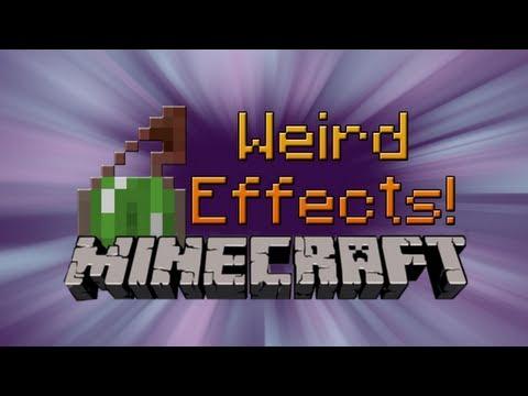 Weird Minecraft Potion Effects