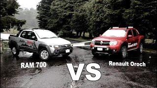 Comparativo RAM 700 VS Renault Oroch