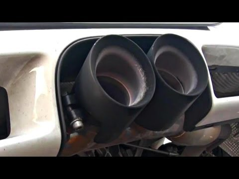 Porsche Cayman R with FabSpeed Race Exhaust Revs and Acceleration!