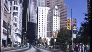 Atlanta by car 1991