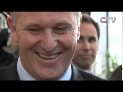 CTV News - John Key Accosted