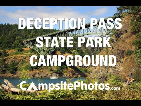 Deception Pass State Park, Washington Campsite Photos
