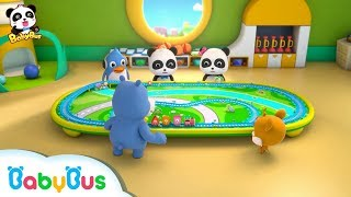 Baby Panda Toy Cars Race |  Toy Car, Train, Racing Car | Kids Songs collection | BabyBus