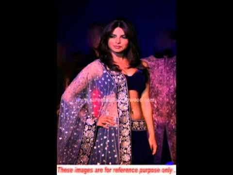 Priyanka Chopra Royal Blue Lehenga video