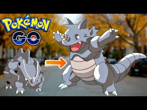 Pokemon Go / Покемон Го ► Покемоны в Одессе ► Эволюция Rhyhorn ◓ Rhydon ► #63