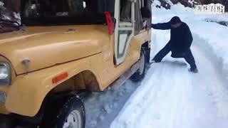 Shogran Snowfall | How to drive in Snow | Winter in Shogran