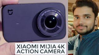 Xiaomi Mi Mijia 4K Action Camera Unboxing & Hands On | Hindi - हिंदी