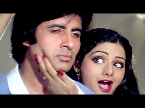 Aaj Abhi Yahin - Amitabh Bachchan, Sridevi, Inquilaab Song video