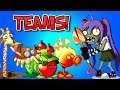 Plants vs. Zombies 2 EXCAVATOR ZOMBIE vs Team Plants PART 1 ✔