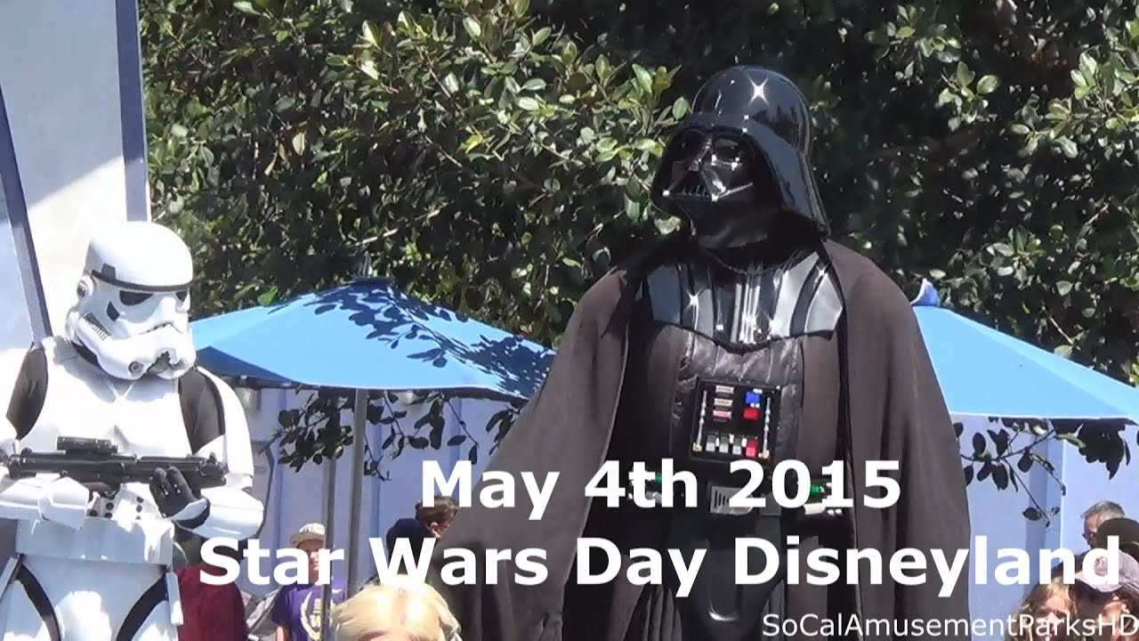 Star Wars Disneyland Ride Disneyland Star Wars May The