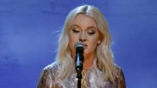 Zara Larsson-Killing Me Softly LIVE.En kväll i New York.