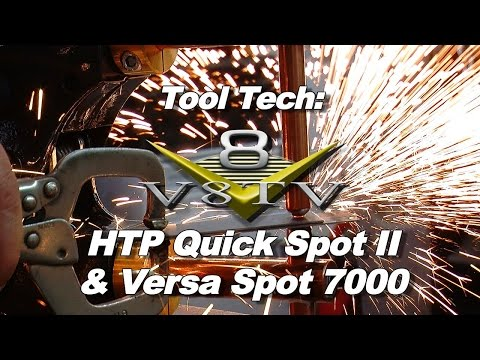 Car Restoration Welding:  How To Use Resistance Spot Welders Video V8T