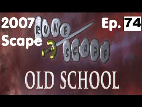Oldschool Runescape – 90 Attack! + Training Slayer! | 2007 Servers Progress Ep. 74