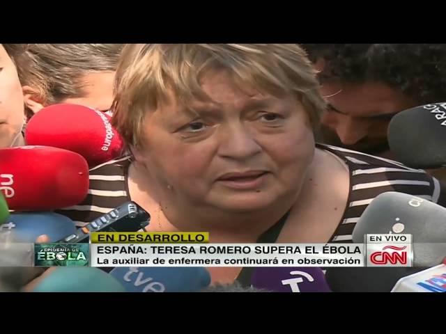 España: ¿Cómo se recuperó Teresa del ébola?