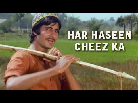 Har Haseen Cheez Ka - Classic Hit Hindi Song - Amitabh Bachchan, Nutan - Saudagar video
