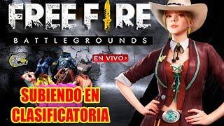 🔴 Subiendo en Clasificatoria!! - Free Fire - Avanzando entre los Diamantes!!