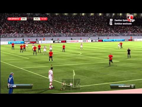 Fifa-Fankurve.de | 1. Bundesliga Saison Fifa 13 | Spieltag 26: VfB Stuttgart - 1.FC Nürnberg [HD]
