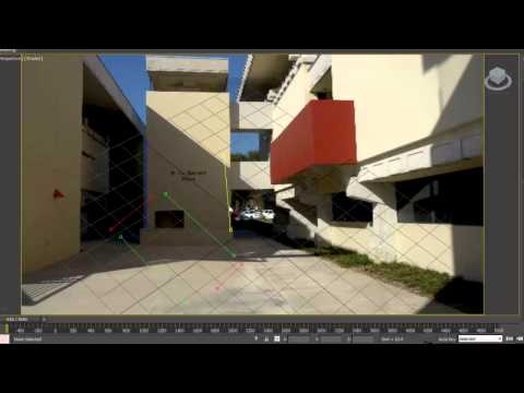 3ds Max 2014 New Features: Perspective Match