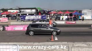 Toyota Supra vs Honda Civic, 10.09.2011
