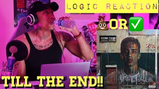 TRASH or PASS! Logic (Till The End) [REACTION!!]