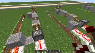 Minecraft PC 1.8.1 Invisible Door/ Force Field Tutorial No Mods!!!