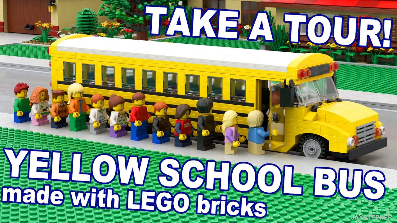 How to build a lego school bus youtube