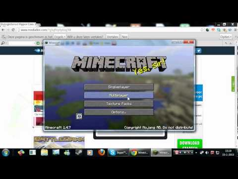 hoe download je gratis minecraft (DUTCH)