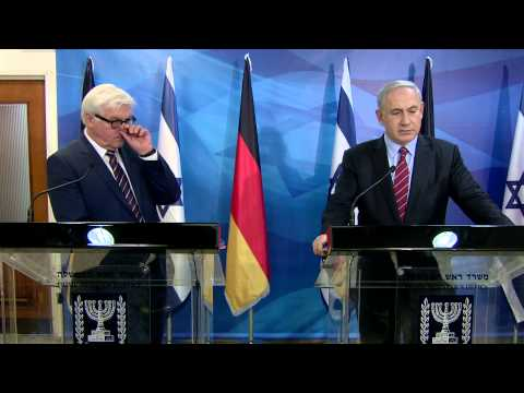 PM Netanyahu's meeting with German MFA Frank-Walter Steinmeier