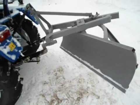 Лопата на трактор своими руками видео