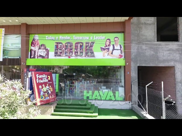 HAVAL Bookstore TV advertise