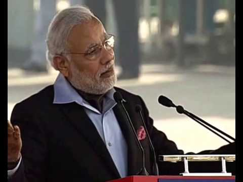 Prime Minister Narendra Modi's speech at NCC rally 2015