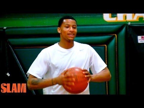 Trey Burke 2013 NBA Draft Workout - Utah Jazz Point Guard of the Future - Michigan Wolverines