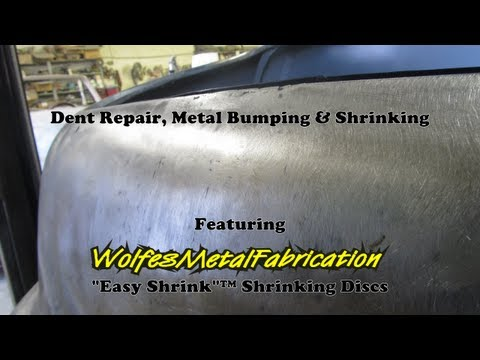 shrinking with a wolfes metal fabrication easy shrink shrinking disc