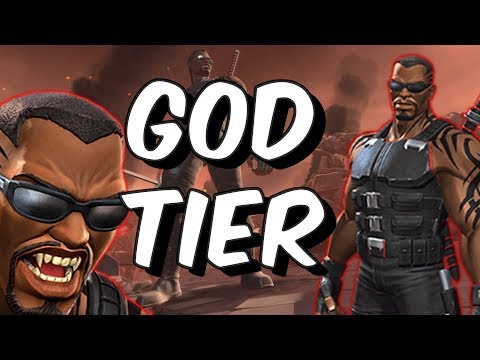 Blade Champion Review - A New God Tier - Marvel Contest Of Champions