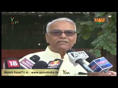 BJP Byte: Shri Manmohan Singh should resign for failure in economic policy: Shri Yashwant Sinha