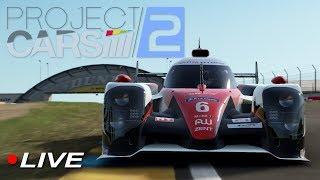 Project Cars 2 Spirit of Le Mans DLC Community 1h Race | Live