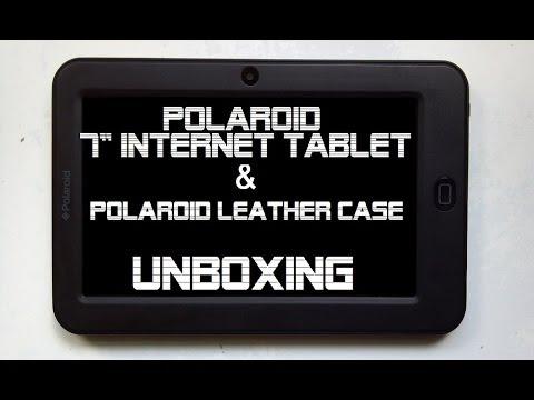 polaroid tablet keyboard instructions