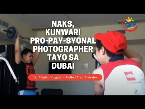 Buhay sa Dubai || BAR CHENESE -  Pinoy Hunk in the making (behind the scene)