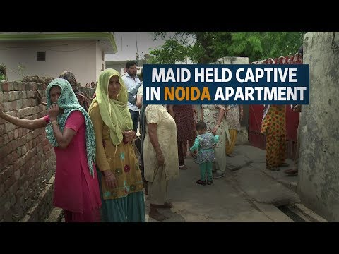 Noida apartment complex becomes battleground on reports of maid being held captive