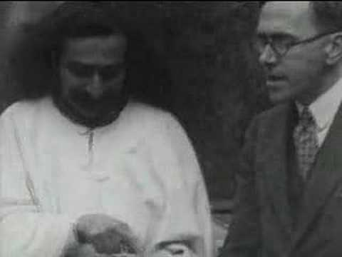 Meher Baba Interview 1932 Newsreel (religion, spirituality)