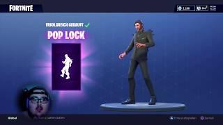 "NEW DANCE + SKIN ""POP LOCK"" and ""FATE""  | FORTNITE"