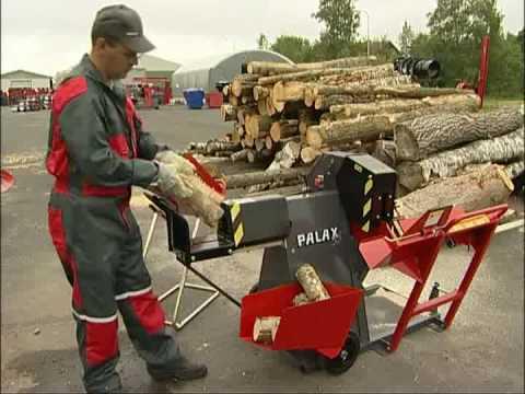 Palax 55 Firewood Processor Youtube