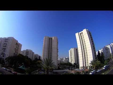 Tel Aviv, 10/July/2014, 8:00 a.m., - Hamas' rockets fired from Gaza at Tel Aviv