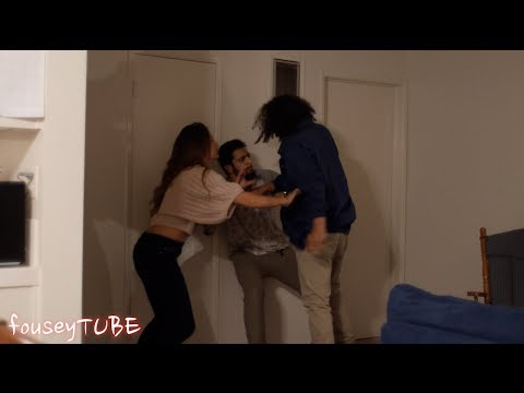 Cheating Girlfriend Prank Gone Wrong! (Dude Gets Scared Straight After Knife Gets Pulled Out)