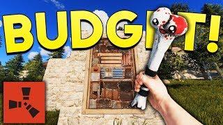 BUDGET RAIDING! - Rust SOLO Gameplay