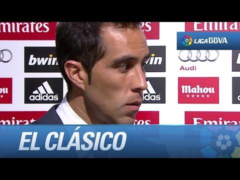 Entrevista a Claudio Bravo tras el Real Madrid (3-1) FC Barcelona - HD