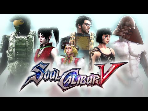 Soul Calibur V - 21 Custom Creations (Batman. Master chief. Faith. RAAM. Ornstein. Touhou...)