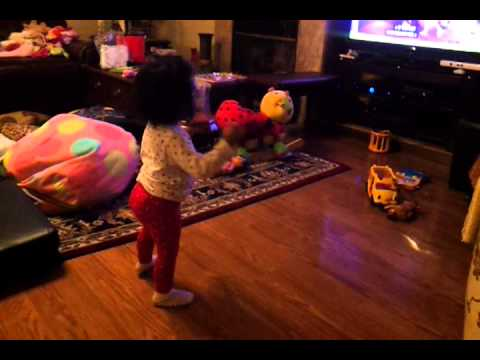 Sofia And Barney The Dinosaur video