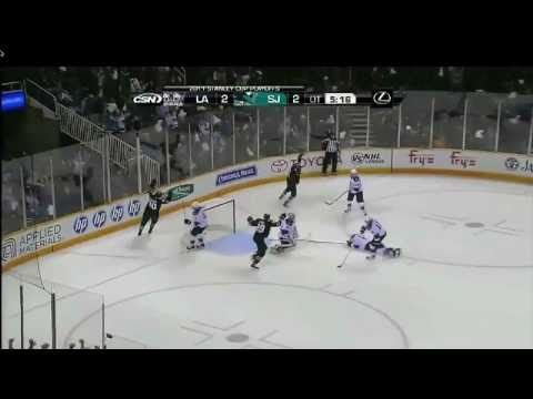 Joe Pavelski OT Game Winner (4/14/11) [HD]